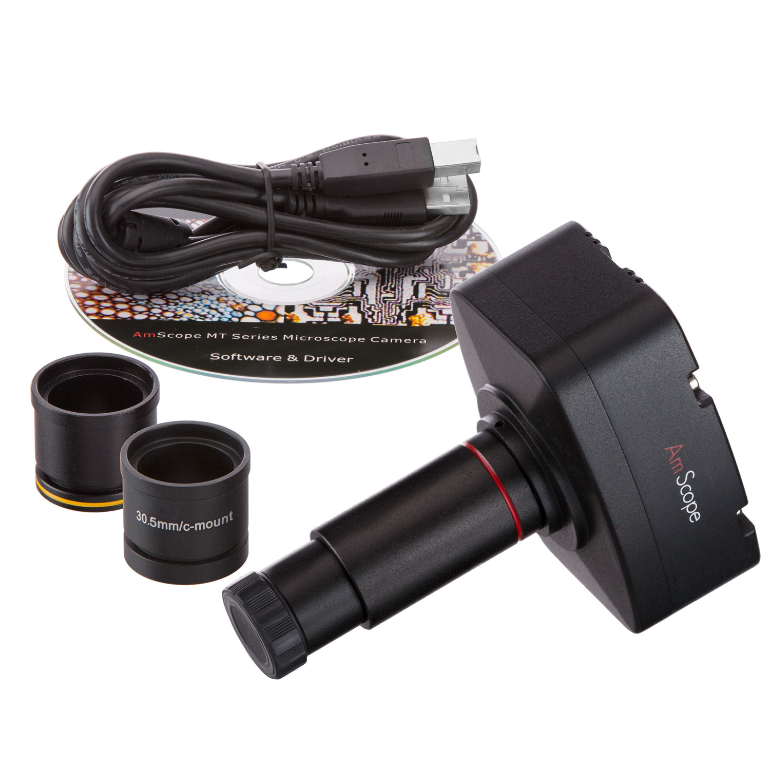 AmScope 3MP Microscope Digital Camera for Windows and Mac