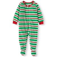 Matching Family Christmas Pajamas Baby Microfleece Blanket Sleeper