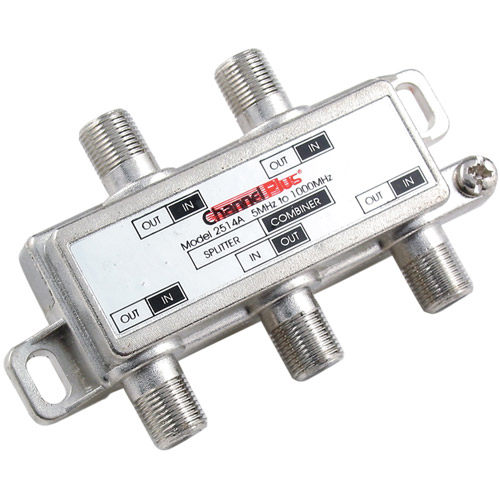 Channel Plus 2514 DC/IR Passing Splitter/Combiner, 4-Way