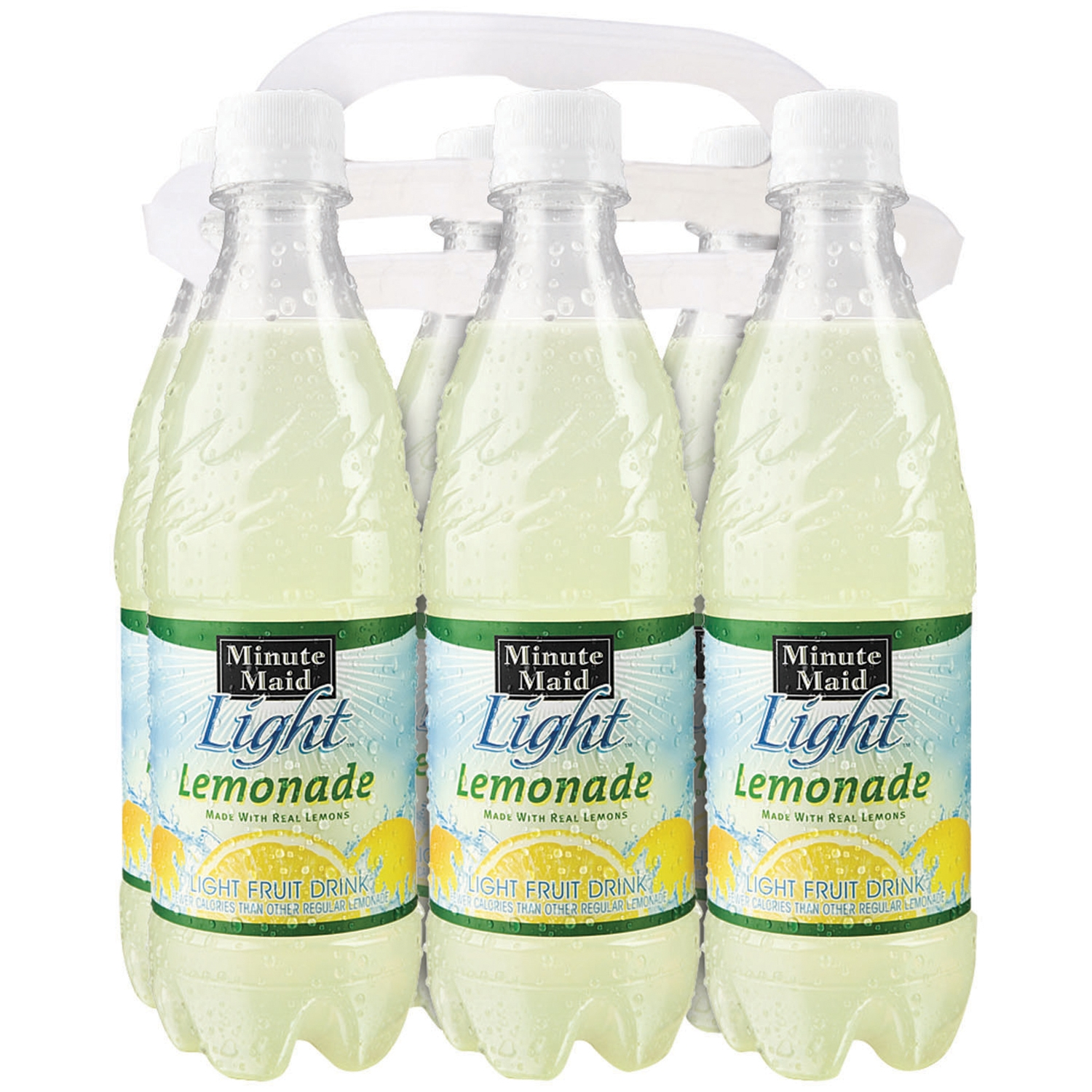 Minute Maid Light Lemonade 6 16.9 Fl Oz Plastic Bottles Nice Design