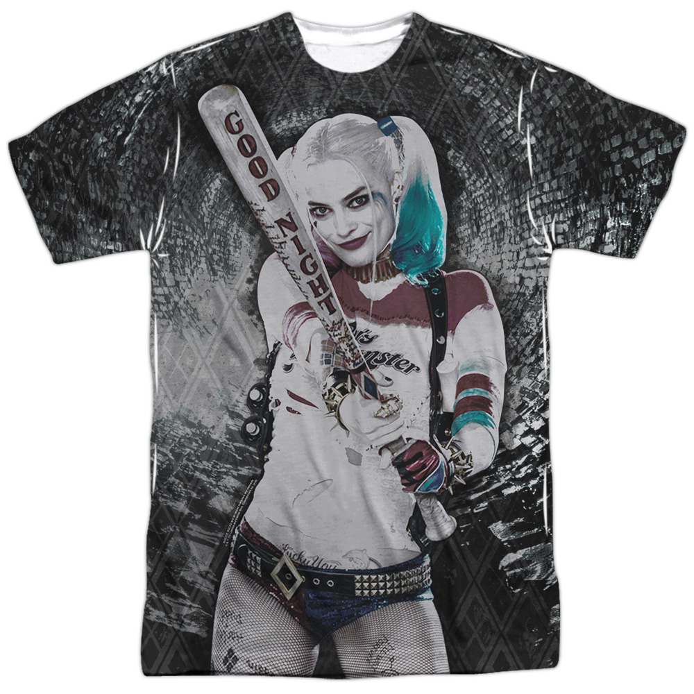 Suicide Squad Tunnel Vision (Front Back Print) Mens Sublimation Shirt