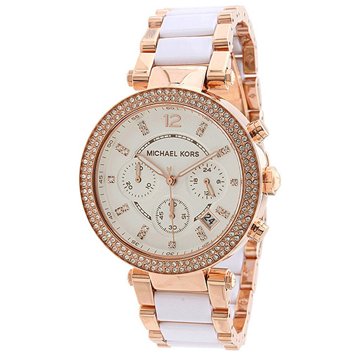 Michael Kors Women's Parker Watch Quartz Mineral Crystal MK5774