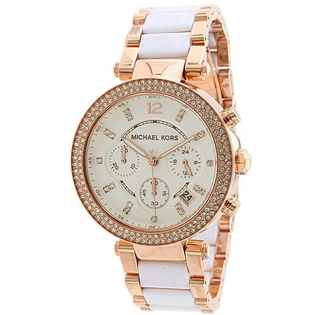 Michael Kors Women's Parker Watch Quartz Mineral Crystal MK5774