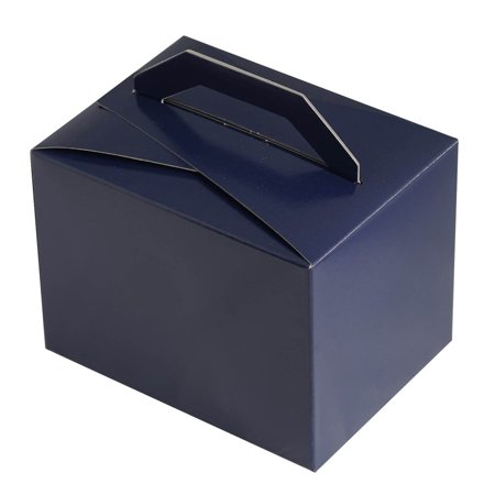 Efavormart 100pcs Tote Favor Boxes Party Goodie Boxes Treat Box For Wedding Reception/Bridal Shower/ Banquet Event