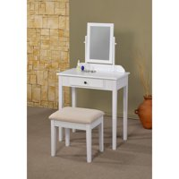 Sky 3-Piece Vanity Set (White)