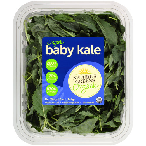 Nature's Greens Organic Baby Kale, 5 oz