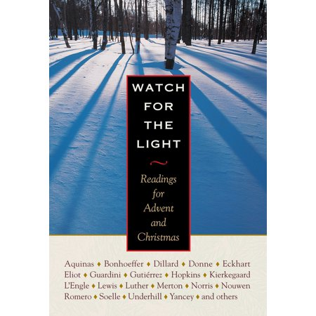 Watch for the Light: Readings for Advent and Christmas (Hardcover) ()