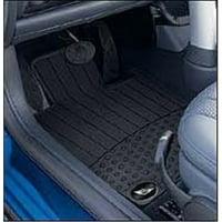 mini cooper genuine factory oem 82550146457 front all season floor mats 2002-2006 (set of 2 front mats)