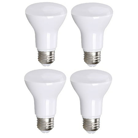 4 Pack Bioluz Led R20 Br20 Bulbs Dimmable Outdoor Indoor Flood Lights Soft White 3000k Ul Listed