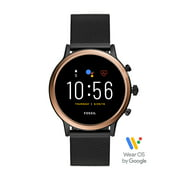 Fossil Gen 5 Julianna HR Smartwatch - Black Stainless Steel Mesh - Powered with Wear OS by Google