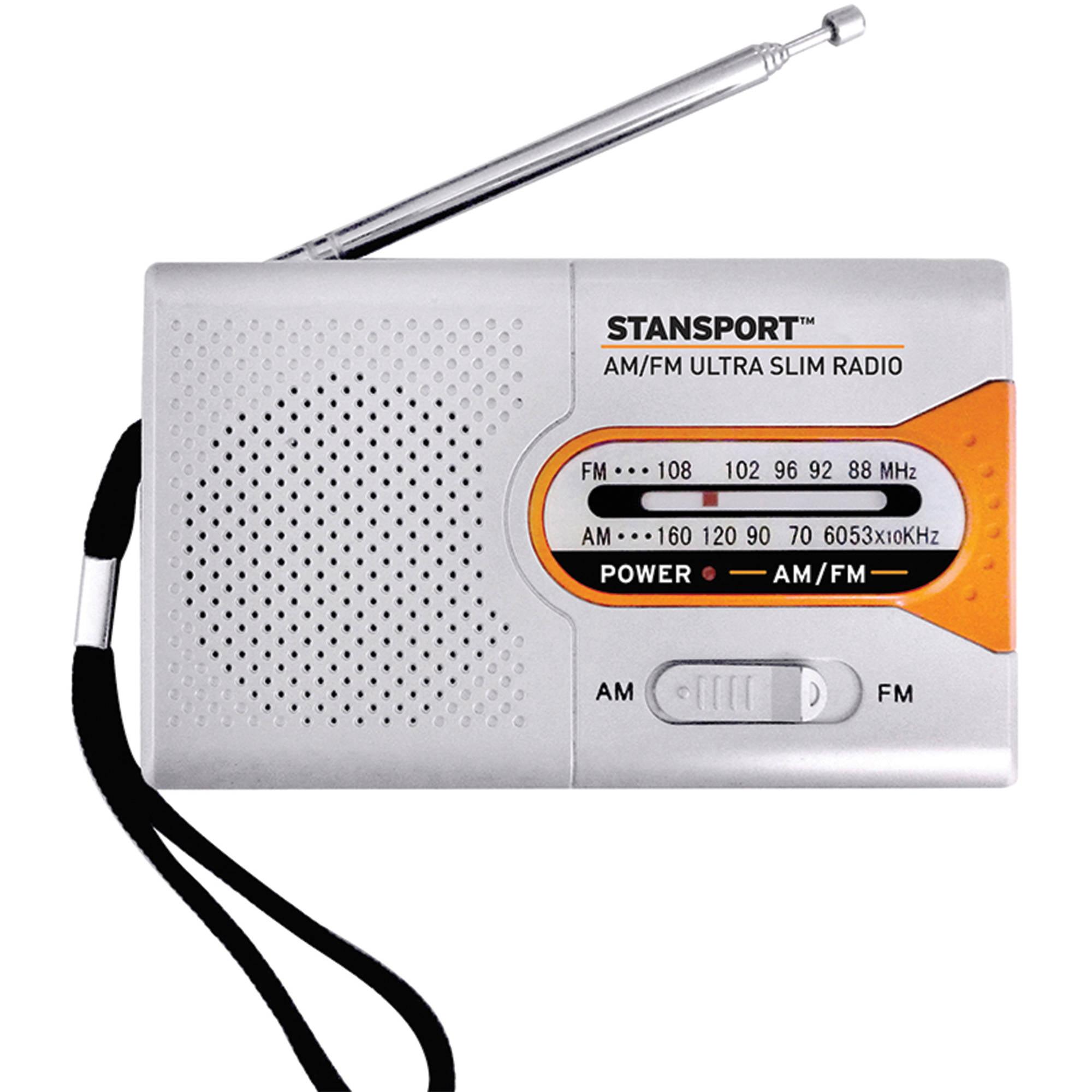 Stansport Emergency AM FM Radio by