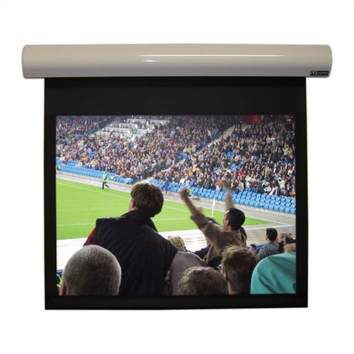 VUTEC Lectric I Matte Black Electric Projection Screen