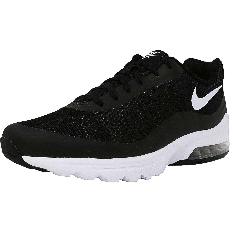 Nike Men's Air Max Invigor Black White Ankle High Fabric