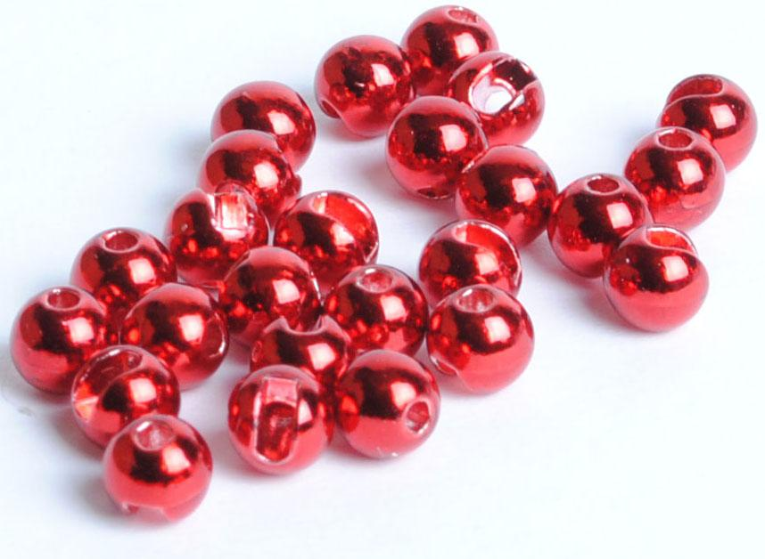 25 Slotted Tungsten Fly Tying Beads Size 2.4 mm