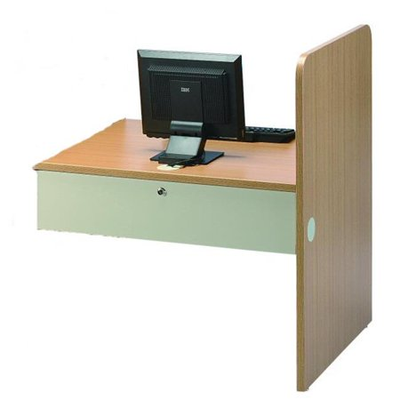 Smith Carrel 01901A Teaching Carrel II Adder 26.5 in. Work Surface Ht