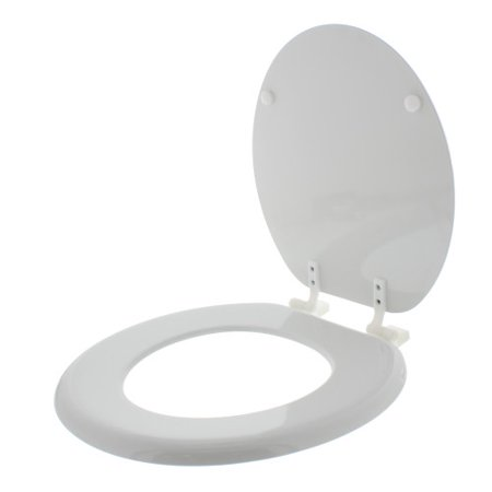 Wood Toilet Seat Walmart.Aquaplumb Ts100w Regular White Wood Toilet Seat