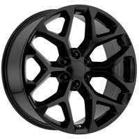 "OE Creations 176MB 20x9 6x5.5"" +24mm Matte Black Wheel Rim 20"" Inch"
