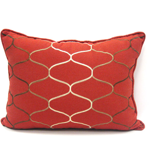 Better Homes and Gardens Stitched Ombre Accent Pillow, Rich Plum