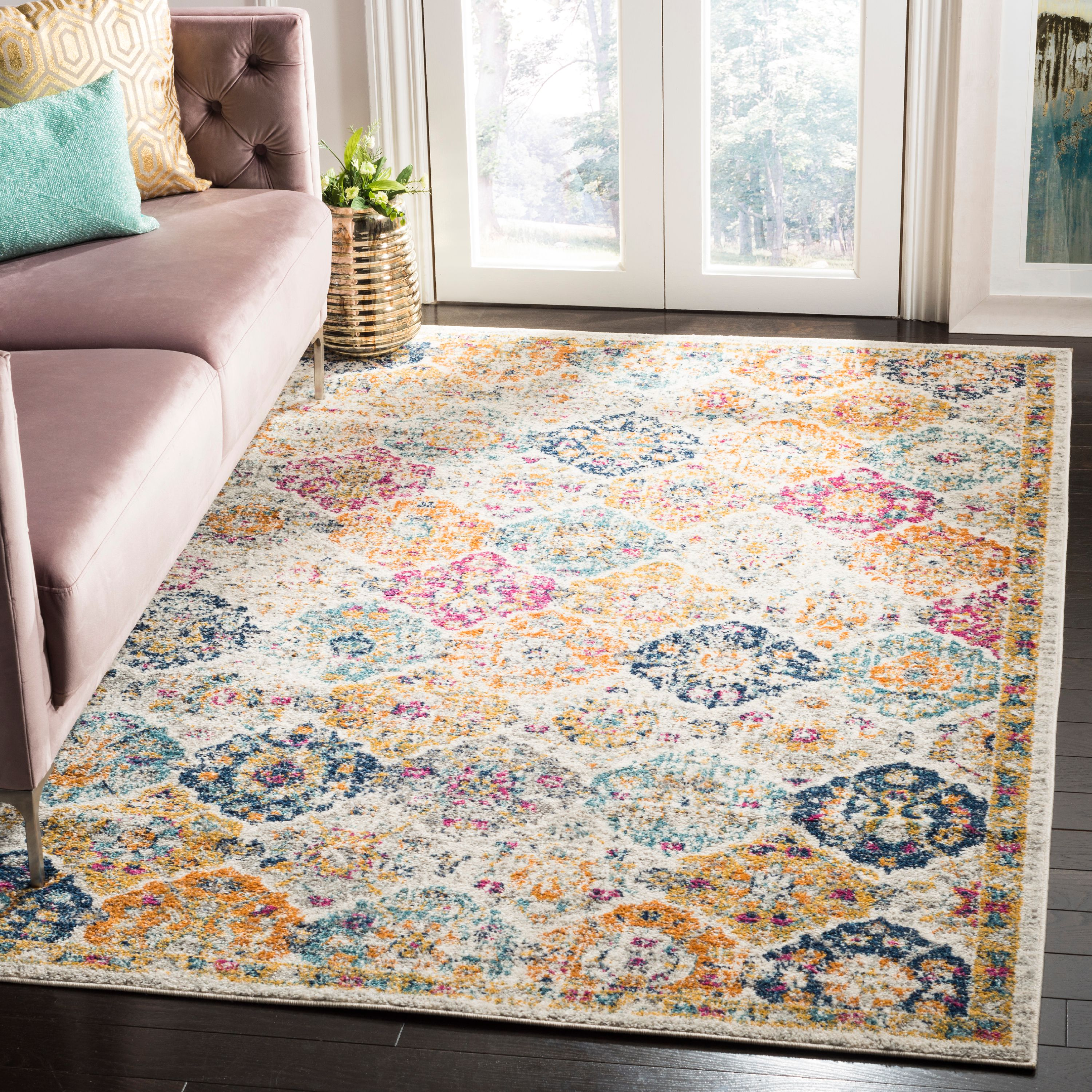 Safavieh Madison Judith Geometric Floral Area Rug or Runner by Safavieh