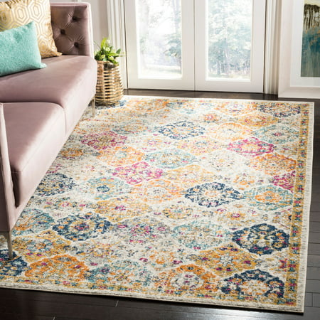 Safavieh Madison Judith Geometric Floral Area Rug or Runner (Geometric Floral Rug)