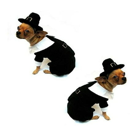 Dog Costume PILGRIM BOY COSTUMES Dress Your Dogs For Thanksgiving (Size - Buy Dog Costumes