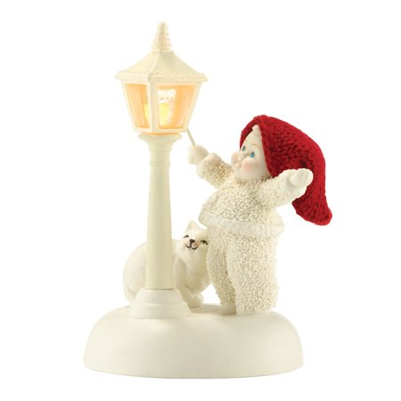 Dept 56 Snowbabies 4031912 This Little Light Of Mine Lights Up