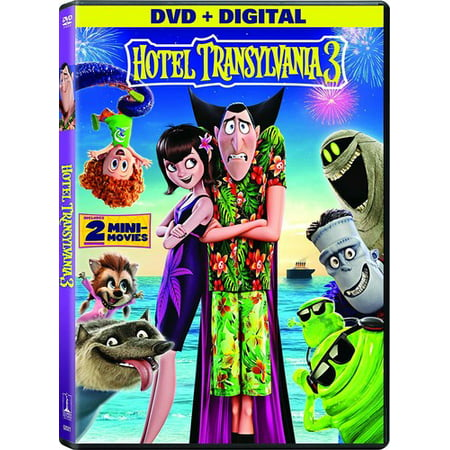 Hotel Transylvania 3: Summer Vacation (DVD + Digital Copy) - Fairies Movies For Kids