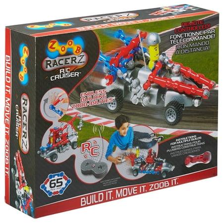 ZOOB RacerZ RC Cruiser - Zoob Car Designer
