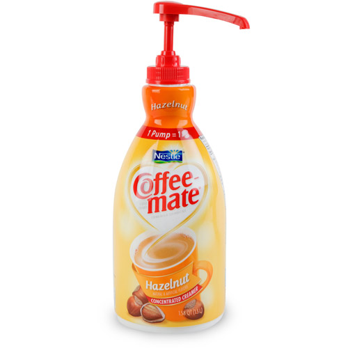 Nestlé Coffee-mate Hazelnut Liquid Coffee Creamer 50.7 fl. oz. Bottle