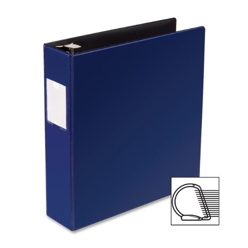 """33111 Business Source Slanted D-Ring Binder 2"""" Binder Capacity 3 x D-Ring Fastener 2 Pockets Chipboard,... by Business Source"""