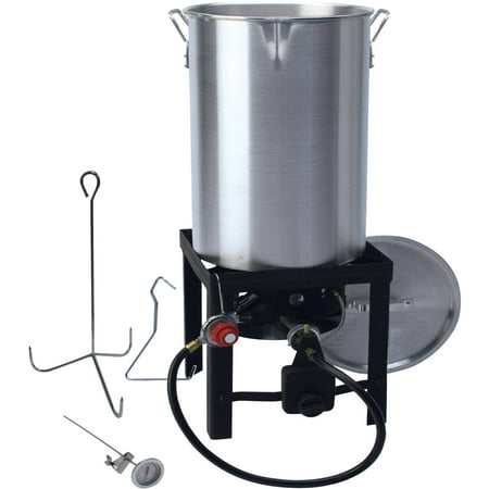 Walmart 30 Qt Turkey Fryer With Spout Walmart Com