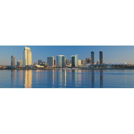 View from Coronado San Diego California Canvas Art - Panoramic Images (27 x (Coronado 9)