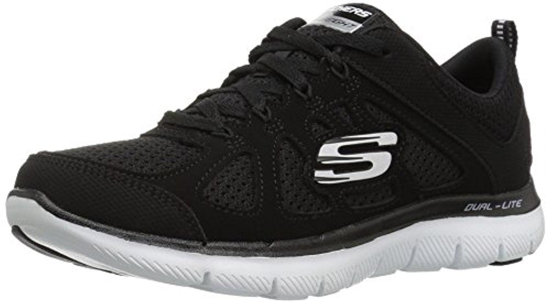 12761 BKW Black Skechers Shoes Women