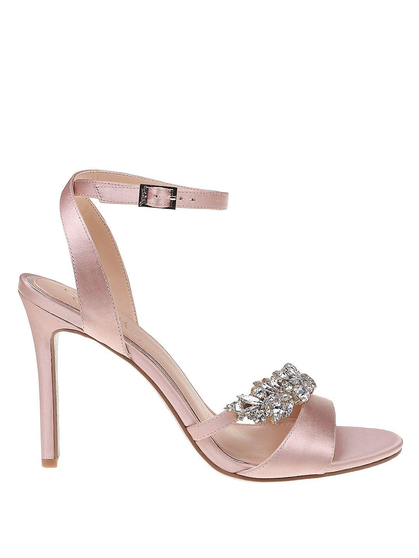 Merida Satin Stiletto Sandals Economical, stylish, and eye-catching shoes