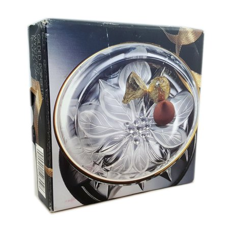 Studio Nova Color (Studio Nova Gilded Poinsettia Round Candy Dish WY327/507)