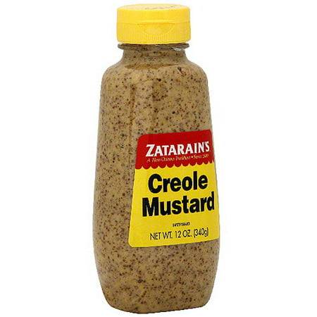Zatarain's Creole Mustard, 12 oz (Pack of