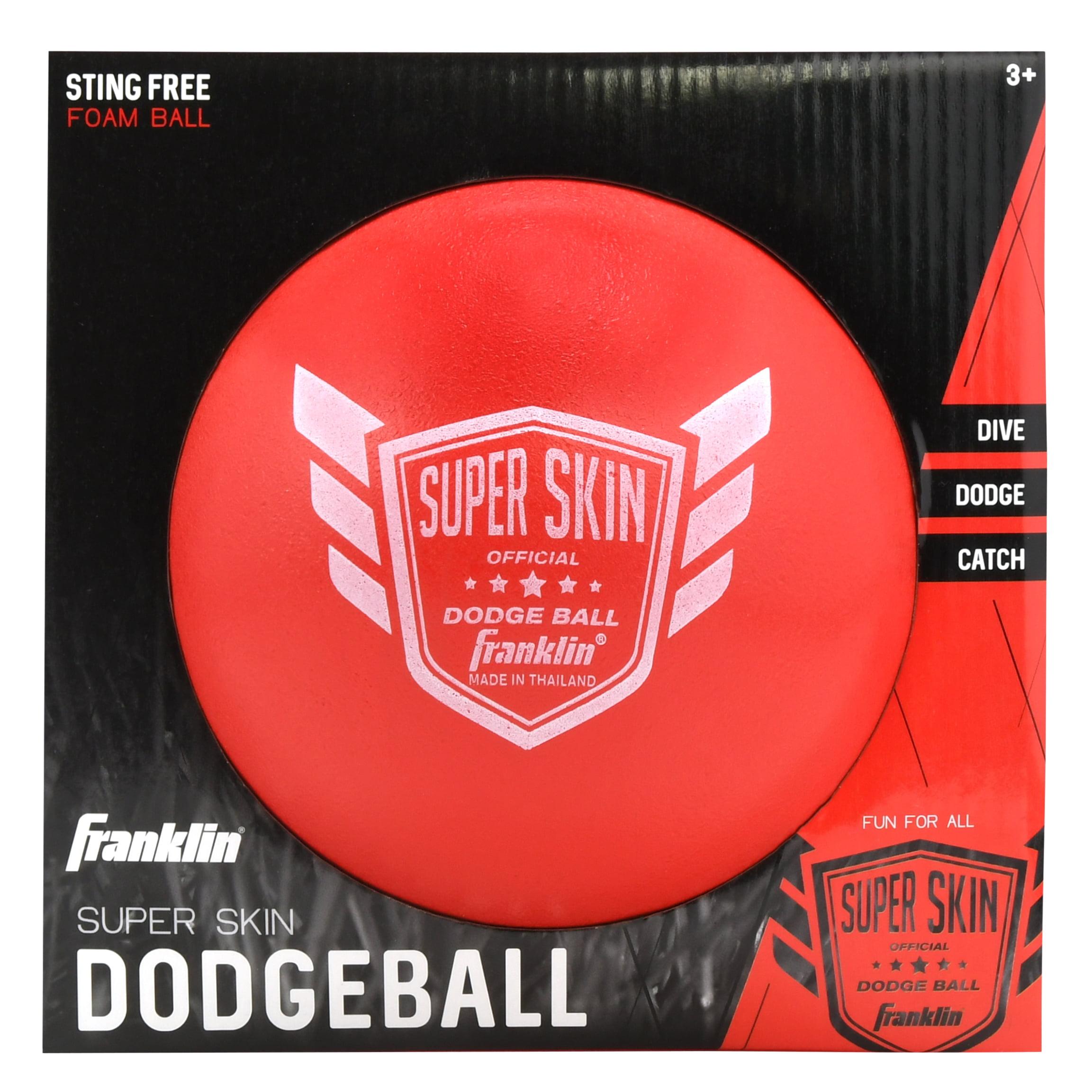 """Franklin Sports 6 Pack of 6"""" Superskin Foam Dodge Balls"""