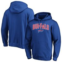 Buffalo Bills NFL Pro Line by Fanatics Branded Iconic Engage Arch Pullover Hoodie - Royal