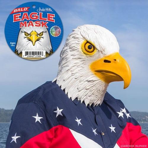 Image of Accoutrements Bald Eagle Mask