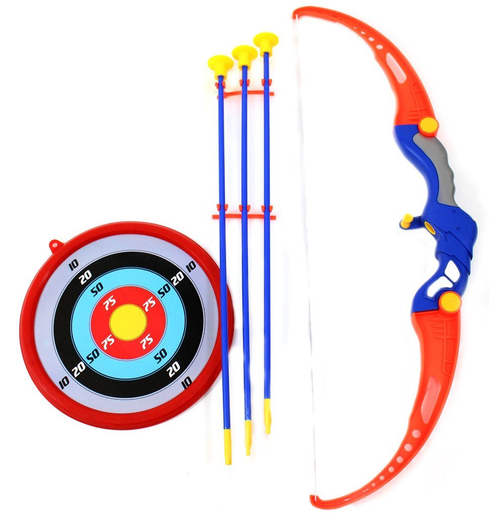 Bow & Arrow Archery Set for Kids - Includes Arrows, Targe...