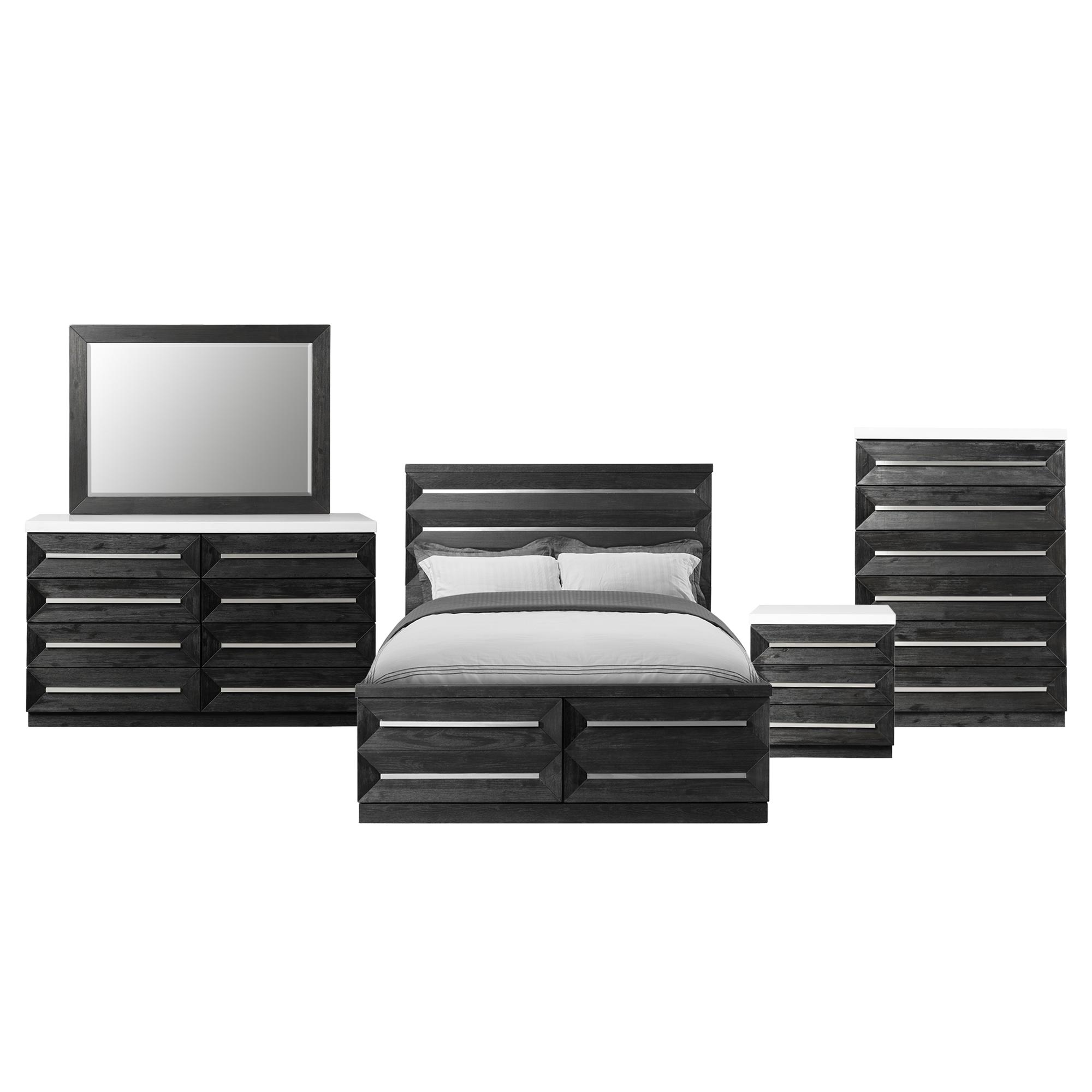 Picket House Furnishings Grace King Storage 5PC Bedroom Set