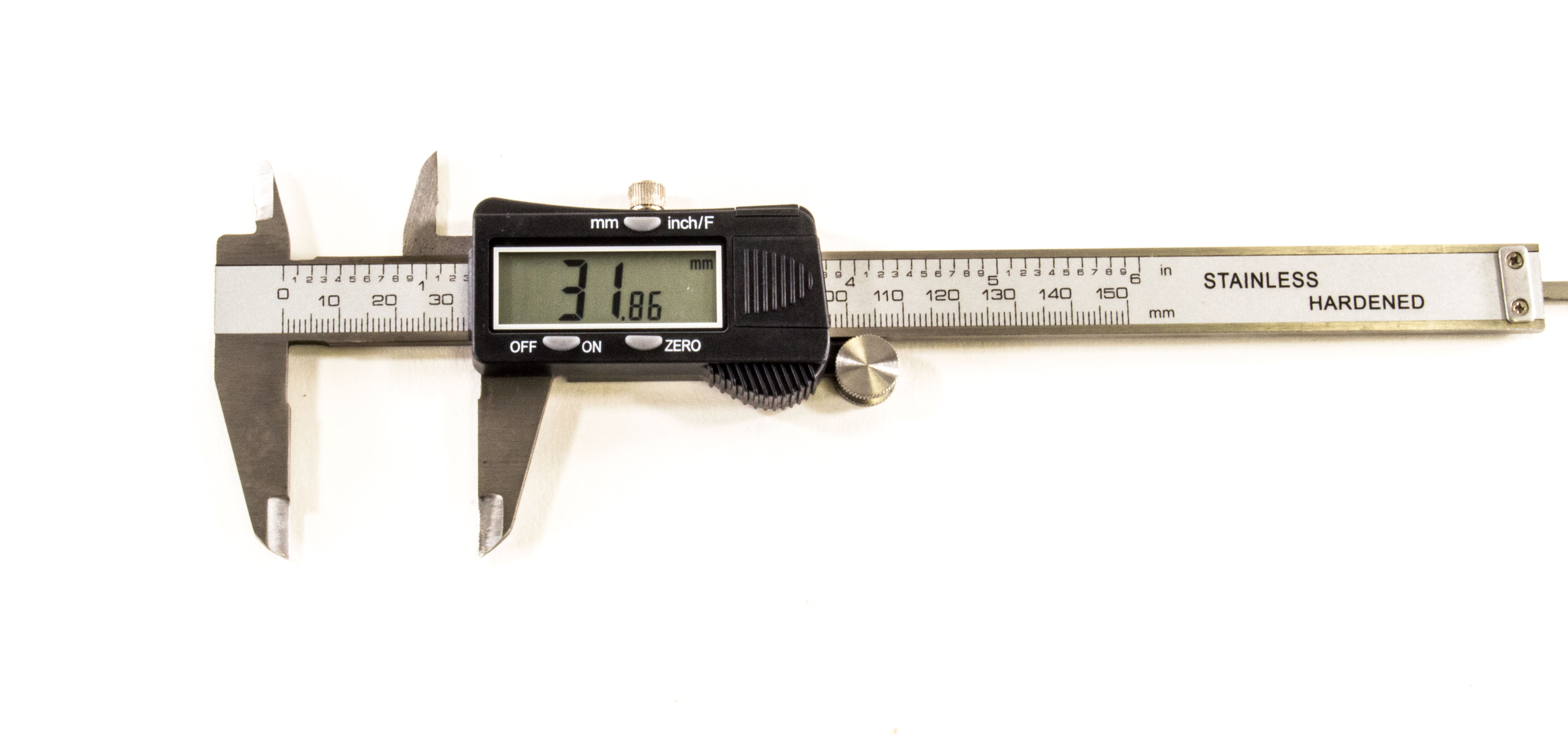 "3-in-1 LCD Digital Vernier Caliper, 1-6"" 0-150mm by Electronix Express"
