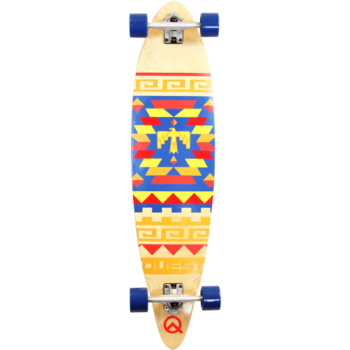 "Quest Tribes 40"" Longboard Skateboard by Olympics Long Co., Ltd"