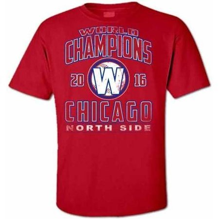 Distressed Baseball (Chicago Baseball 16 Distressed Champions 2X Large)
