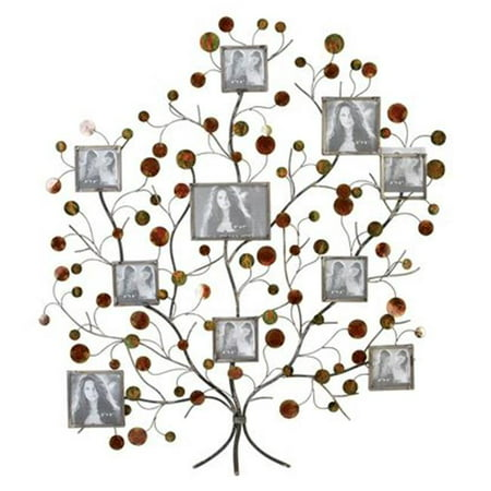 A Nation 13249 Metal Family Tree Picture Frame Wall Decor Walmartcom