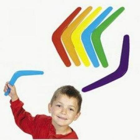 Plastic Bright Boomerangs (4 dz) by Fun Express