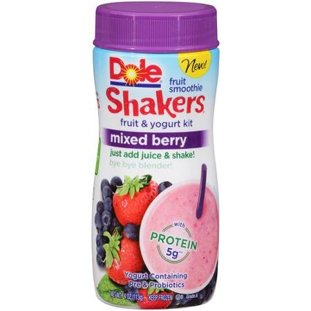 Dole Smoothie Shakers® - Mixed Berry