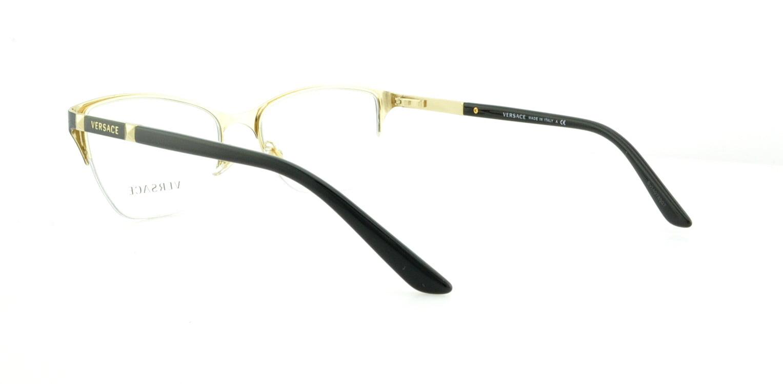7b79b16bf1f VERSACE Eyeglasses VE1218 1342 Gold 53MM - Walmart.com