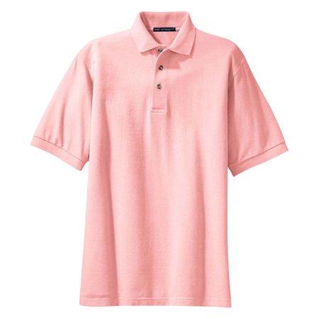 Port Authority Men's Heavyweight Pique Knit Polo Shirt