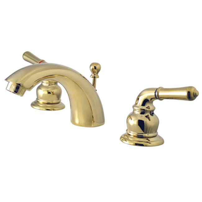Kingston Brass Ks2952 4 Inch 8 Inch Widespread Lavatory Faucet